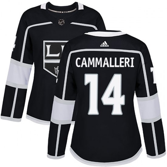Mike Cammalleri Los Angeles Kings Women's Authentic Home Adidas Jersey - Black