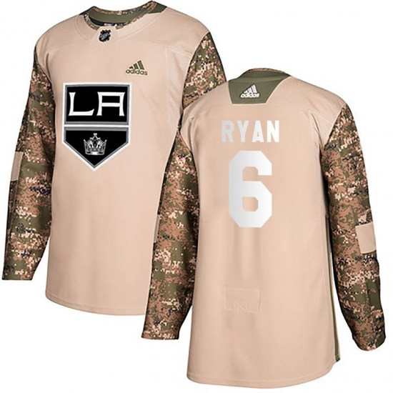 Joakim Ryan Los Angeles Kings Authentic Veterans Day Practice Adidas Jersey - Camo